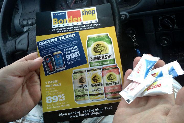 Erbjudanden och dextrosol